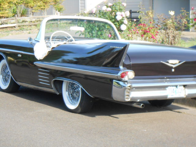 1958 cadillac convertible old custom solid great driver made from a coupe for sale photos. Black Bedroom Furniture Sets. Home Design Ideas