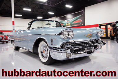 1958 Cadillac Eldorado 1 of only 815 Produced, Fully Restored, Highly Des