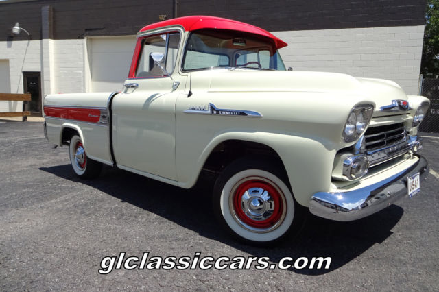 19580000 Chevrolet Other Pickups Apache Cameo