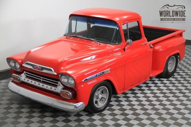 1958 Chevrolet Other Apache 3100! Hot Rod Red! Big Window!