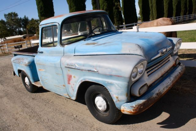 1958 Chevrolet Other Pickups Factory V8, Factory Hydramatic Trans