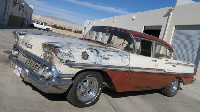 1958 Chevrolet Other BISCAYNE SEDAN! WEST COAST CAR GREAT PATINA!