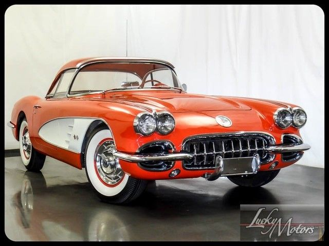 1958 Chevrolet Corvette Convertible Numbers Matching