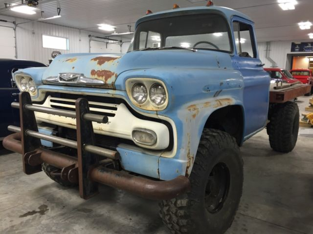 1958 Chevrolet Viking 4x4 For Sale Photos Technical Specifications