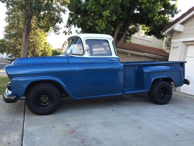 Range Rover San Diego >> 1958 Chevy Apache stepside, Big Window, new paint Resto-Mod, 350 V8, 700R4 Auto for sale: photos ...