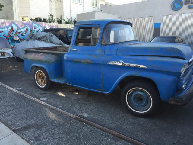 1958 chevy apache truck for sale photos technical specifications description. Black Bedroom Furniture Sets. Home Design Ideas