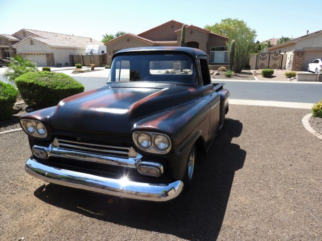 1958 Chevrolet Other Pickups 3100 Chevy Apache Vintage Shop Truck