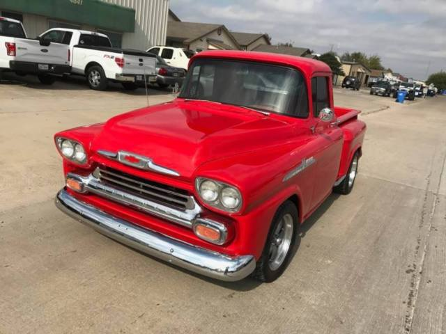 1958 Chevy Truck Stepside Short Bed Apache 3100 For Sale Photos