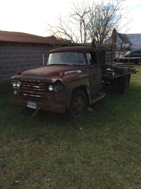 1958 Dodge Power Wagon Step side