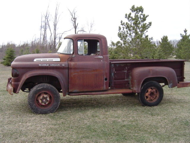 1958 Dodge Power Wagon Original