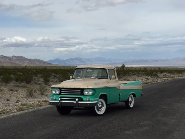 1958 Dodge Other Pickups SWEPTSIDE D100