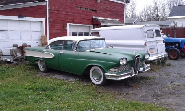 1958 Edsel For Parts Or Restore Sale Photos Technical