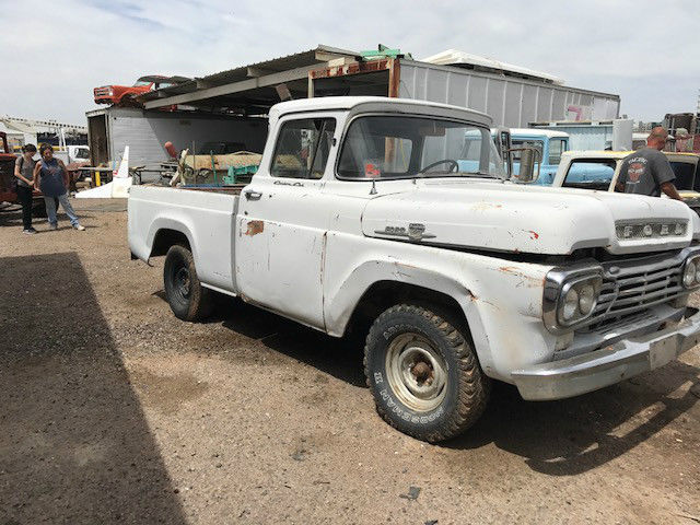 1958 Ford F-100 Stock/base