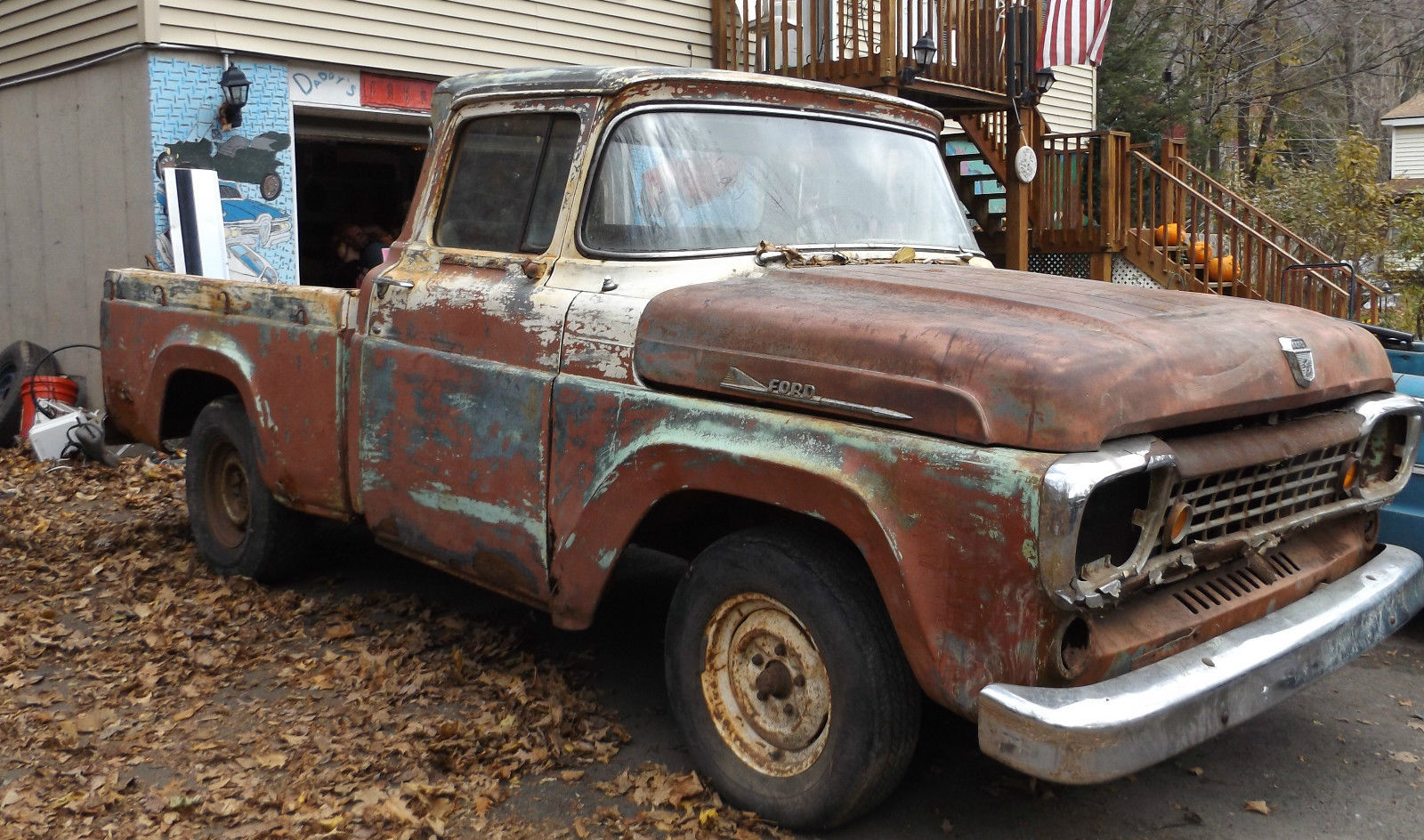 1958 Ford F-100 pick up