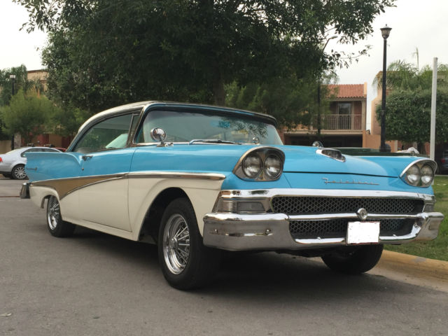1958 Ford Fairlane 500 H.T. 1958
