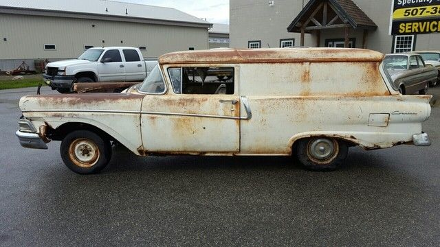 1958 Ford Other 2dr Wagon