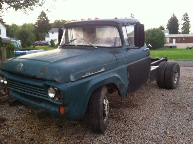 ford truck    ton dually runs drives  miles rat rod  sale