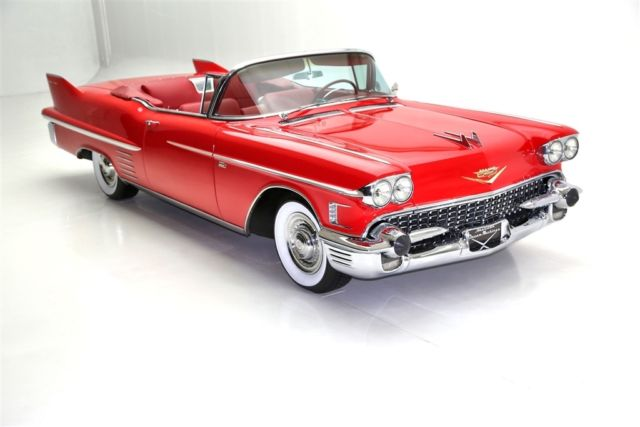 1958 Cadillac Series 62 Convertible Frame Off, AC