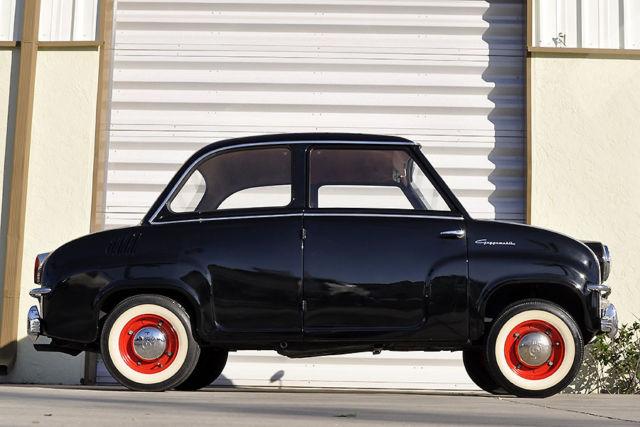 1958 Goggomobil T400 Rare Electro Shift Microcar Not Mini Cooper Fiat