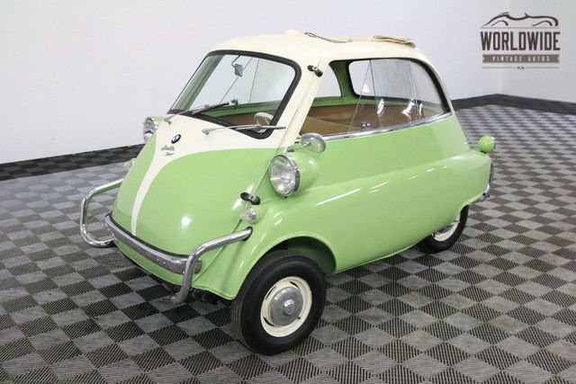 1958 BMW ISETTA 300. FULLY RESTORED GREAT COLOR COMBO
