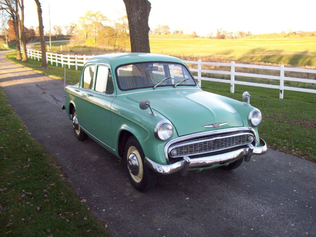 1958 Other Makes Minx green