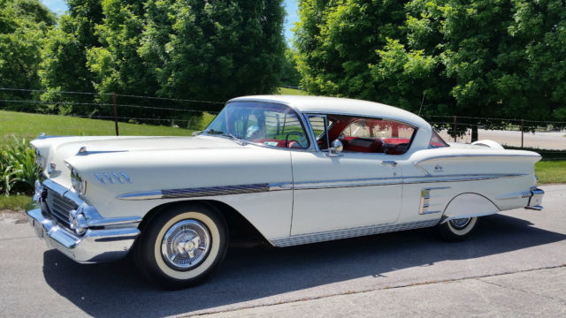 1958 Chevrolet Impala 2 Door Sport Coup Hard Top