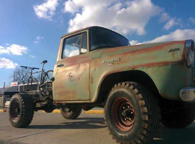 1958 International A120 3 4 Ton 4wd Truck W Upgrades Amp Tx