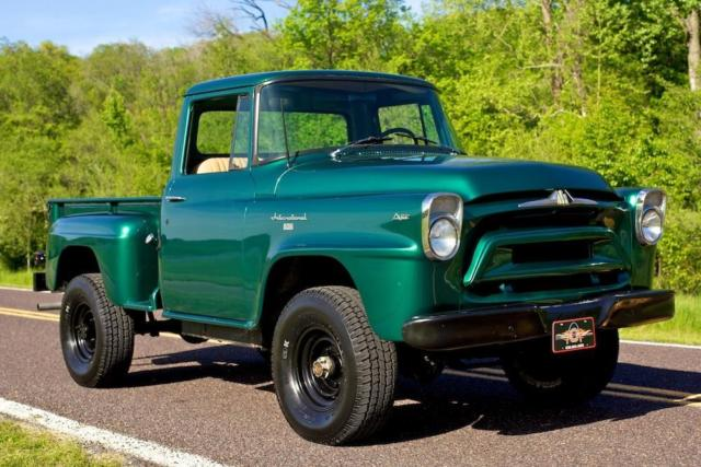 1958 international harvester a120 three quarter ton 4x4 pickup truck for sale photos technical. Black Bedroom Furniture Sets. Home Design Ideas