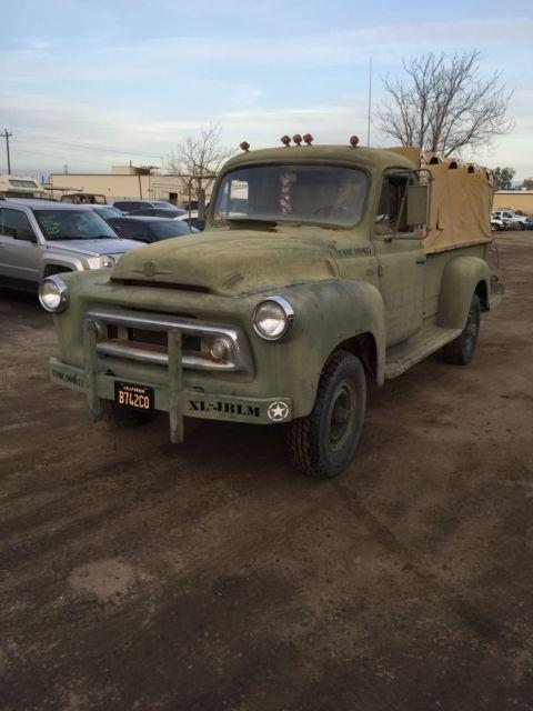 International Truck For Sale Bakersfield Ca >> 1958 International Military Truck 1 Ton 4x4 for sale: photos, technical specifications, description
