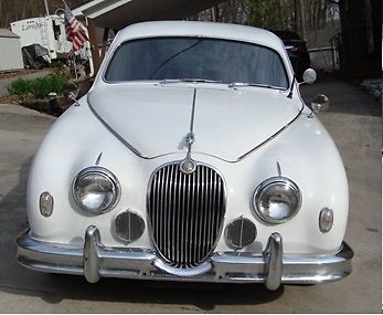 1958 jaguar, mk1 with chevy engine and transmission for sale: photos