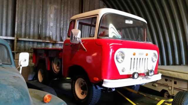 1958 jeep willys fc150