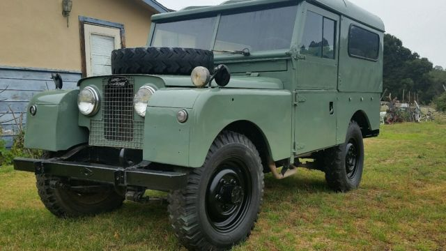 1958 Land Rover Defender Series