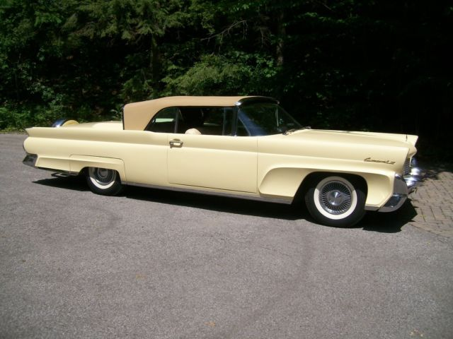 1958 Lincoln Continental LEATHER