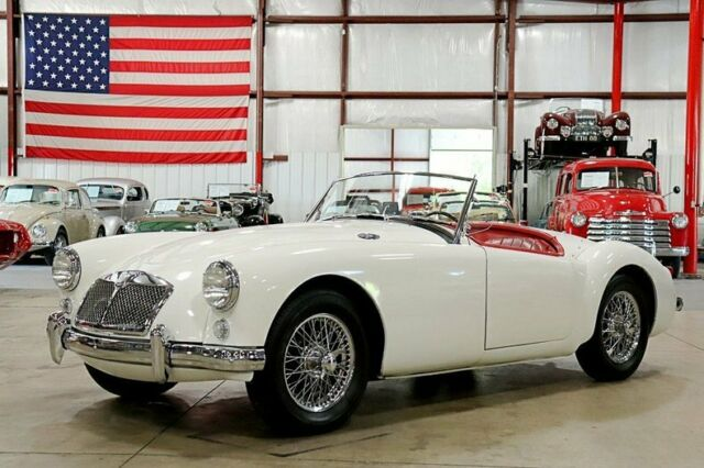 1958 MG A Convertible 90712 Miles White Convertible 4-Cylinder 4-Speed Manual
