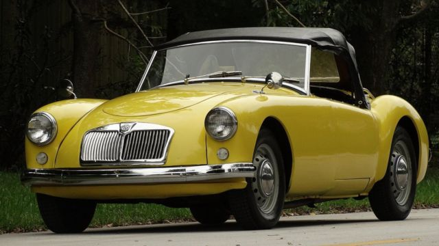 1958 mga british sports car very collectible with antique status in nice shape for sale photos. Black Bedroom Furniture Sets. Home Design Ideas