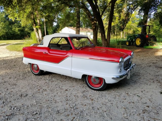 1958 Nash 400 Series 2-door Convertible