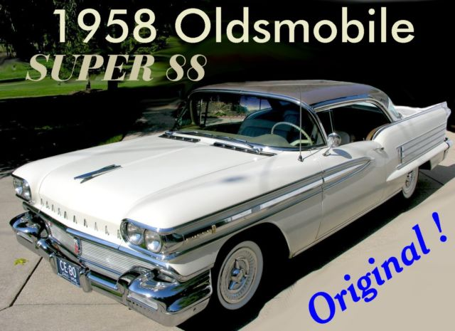 1958 Oldsmobile Eighty-Eight Super 88 - Original / Low Miles