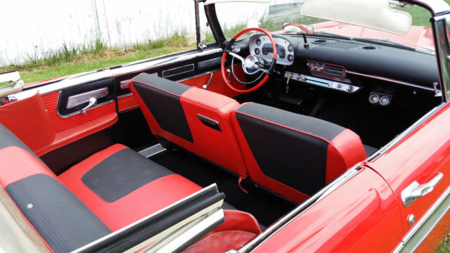 1958 plymouth belvedere convertible red california car christine for sale photos technical. Black Bedroom Furniture Sets. Home Design Ideas
