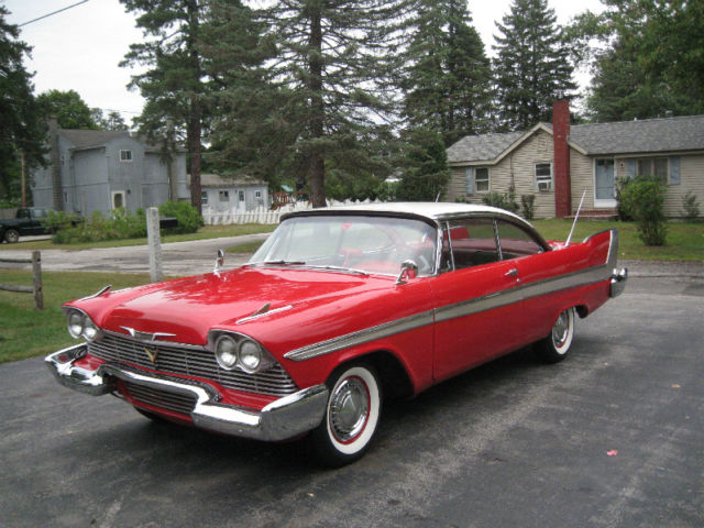 """1958 Plymouth Fury For Sale >> 1958 Plymouth Fury """"Christine"""" for sale: photos, technical specifications, description"""
