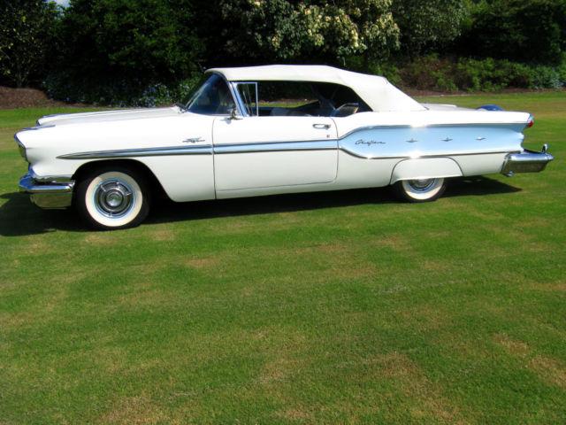 1958 Pontiac Bonneville Chieftain Convertible For Sale