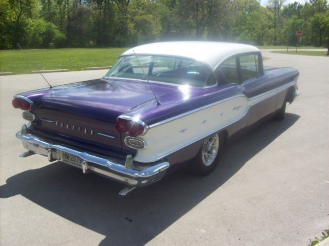 1958 Pontiac Other 2dr sedan