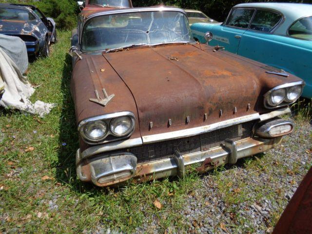 1958 Pontiac , Star Chief 4 Door Sedan , Original Parts Car