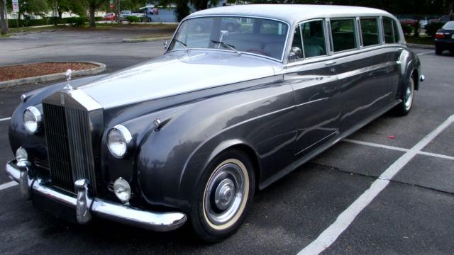 1958 Rolls Royce Silver Cloud 1 Limousine Gm Converted