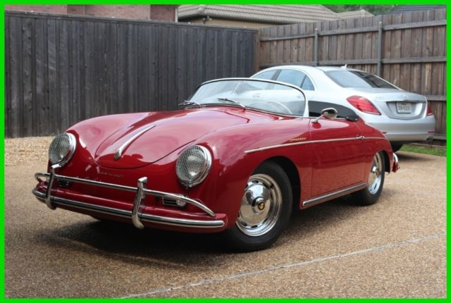 1958 Porsche 356 Super Speedster