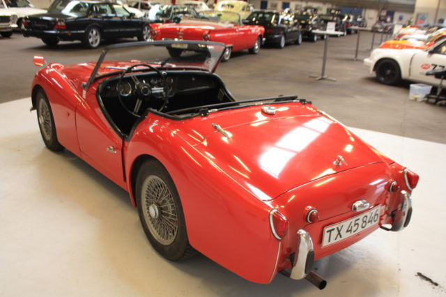 1958 Triumph Tr3 All Original And Matching Numbers Car For Sale