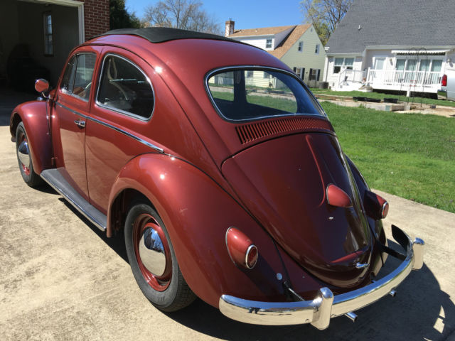 Used Cars In Delaware >> 1958 VW Beetle Ragtop for sale: photos, technical specifications, description