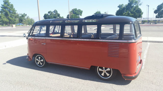 1958 vw bus 23 window samba for sale photos technical