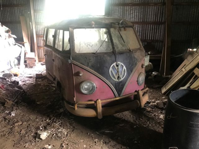 1958 Volkswagen Bus/Vanagon 23 WINDOW SAMBA PROJECT!