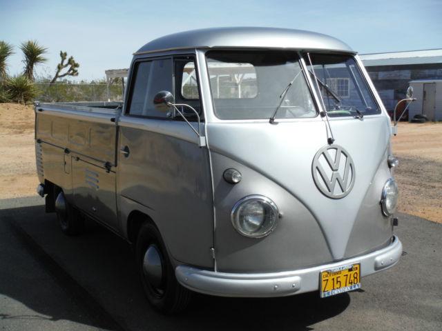 1958 Vw Transporter Single Cab California Truck Rare