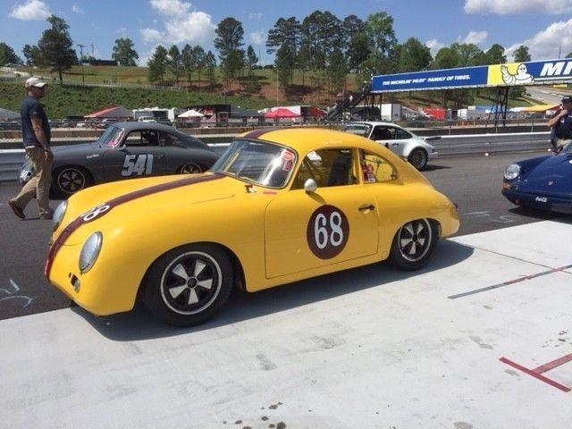 1959 356 A COUPE PORSCHE SKIRMANTS VINTAGE RACE CAR / OUTLAW